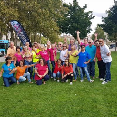 Flashmob WCS 2019 des Rochelais à Niort