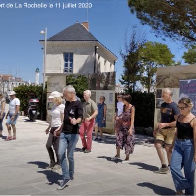 Animation port de La Rochelle juillet 2020